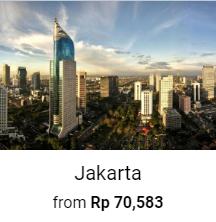 Jakarta Hotel 70%