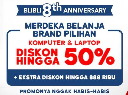 Diskon 50%+5%