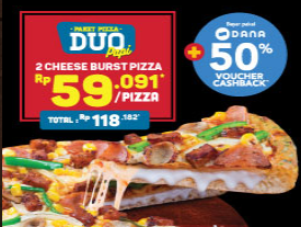 PIzza DUO Rp59K