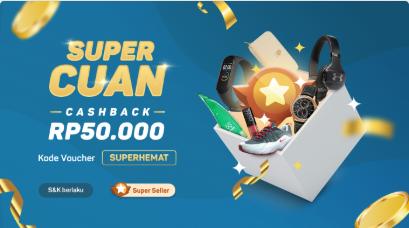Cashback Rp50.000