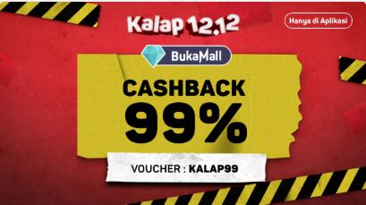 Cashback 99%