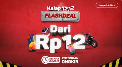 Flash Deal Rp12