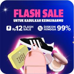 Flash Sale 99%+25RB