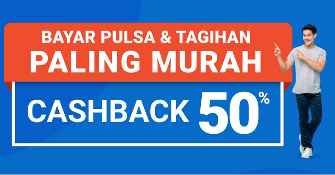 Cashback 50%