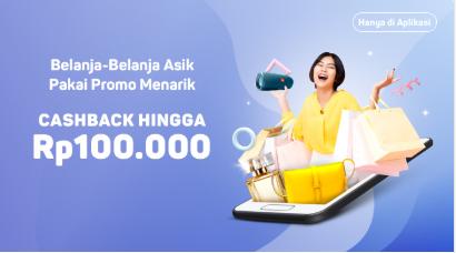 Cashback Rp100.000