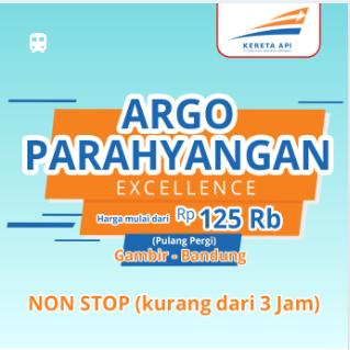 Gambir-Bandung 125rb