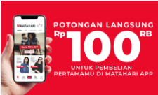 Discount Rp100.000